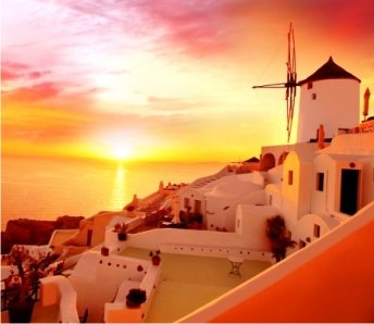 wine tour sunset oia