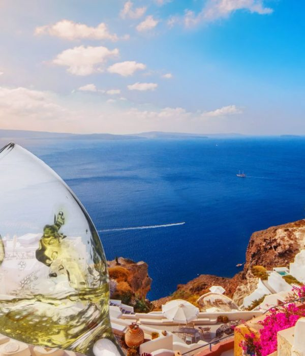 santorini wine tour oia shopping